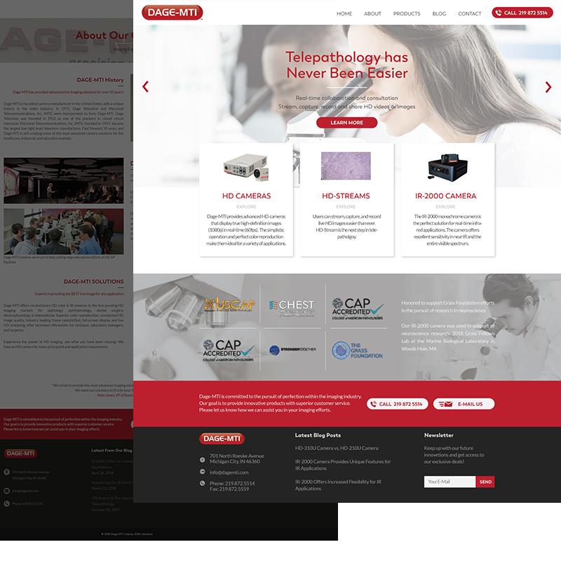 web design visual mockups